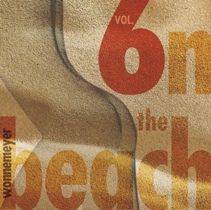 CD cover of vol. 6 on the beach