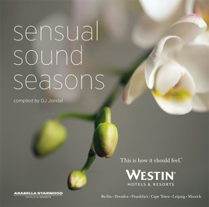 cd cover of sensual sound seasons by DJ Jondal for WESTIN
