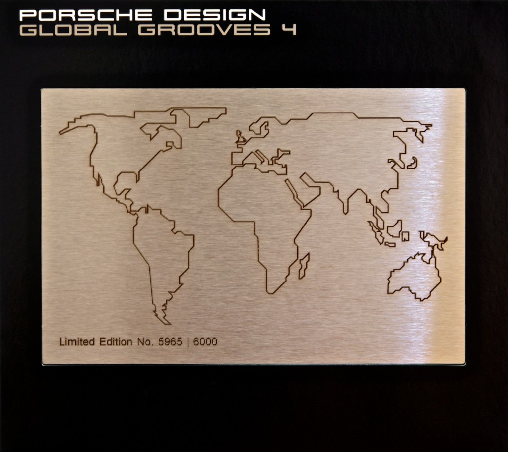 Cover of the DJ Jondal CD compilation Global Grooves 4 for Porsche Design.