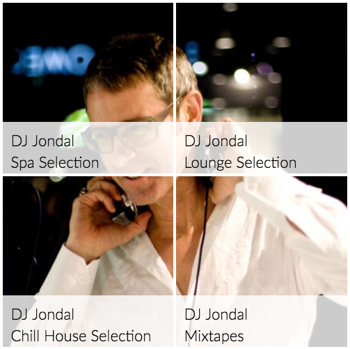 DJ Jondal stations at Ketchup Music in 2017.